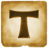 tau-cross-symbol-old-paper-ancient-t-sign-franciscan-order-salvation-mark-burned-weathered-papyrus-77631490